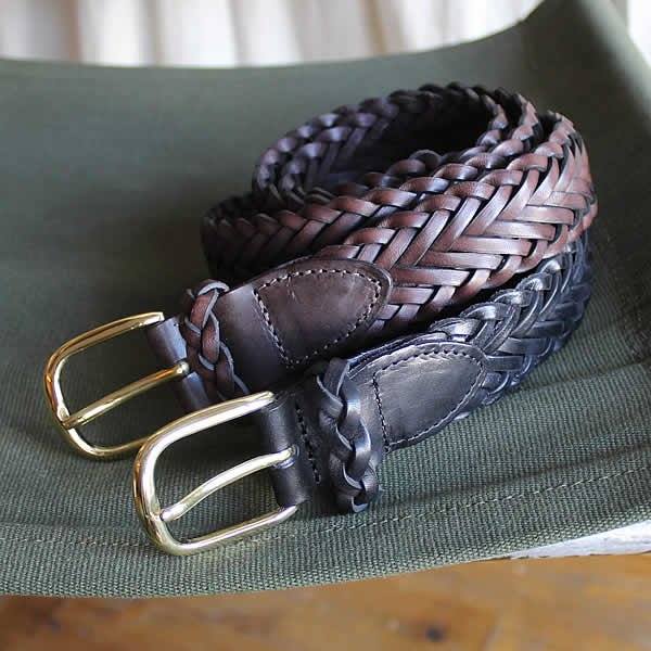 <img class='new_mark_img1' src='https://img.shop-pro.jp/img/new/icons13.gif' style='border:none;display:inline;margin:0px;padding:0px;width:auto;' />ROMA / braided leather belt