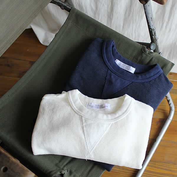 SBTRACT / LINEN CREW L/S SWEAT