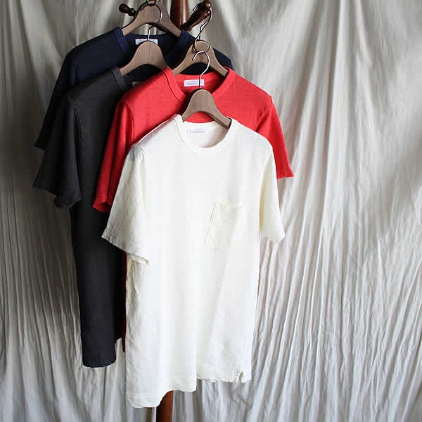 <img class='new_mark_img1' src='https://img.shop-pro.jp/img/new/icons41.gif' style='border:none;display:inline;margin:0px;padding:0px;width:auto;' />SBTRACT / LINEN PK TEE SHIRTS (Tumbler processing) (11.800→8.300税抜)
