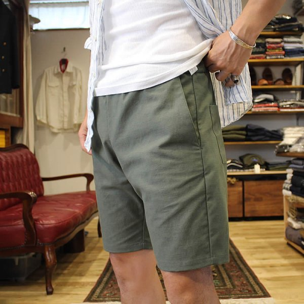 *受注生産*Atelier de vêtements / (exclusive order) easy dress shorts -back satin-