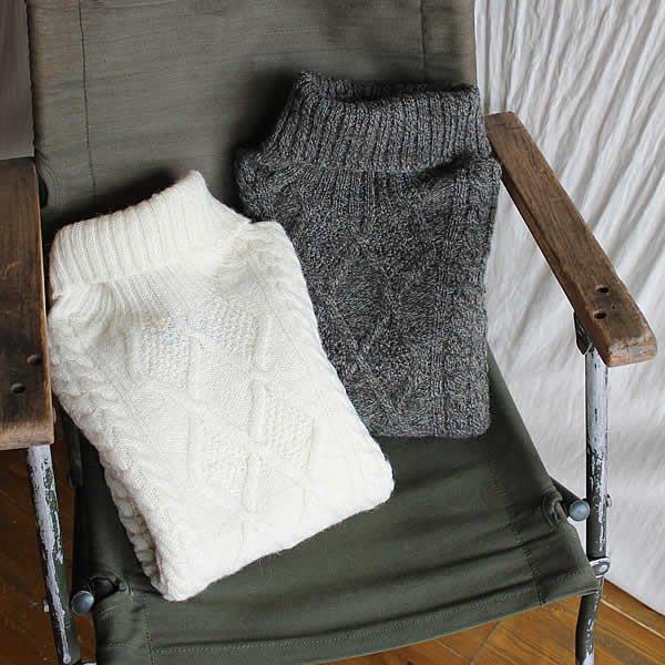 HACKNEY UNION WORKHOUSE / fisherman knit
