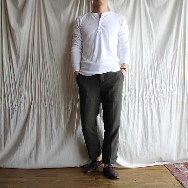Voler dans le ciel / tailored linen pants