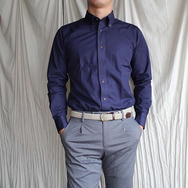 Atelier de vetements shirt / No.19 cotton broad button-down shirts