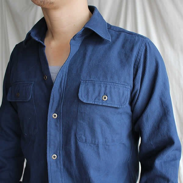 *受注生産*Atelier de vetements shirt / No.15 vintage french work shirt