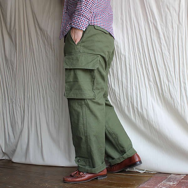 予約 2021年3〜4月お渡し分 ARAN / M-49 (French Army M-47 Field Pant)