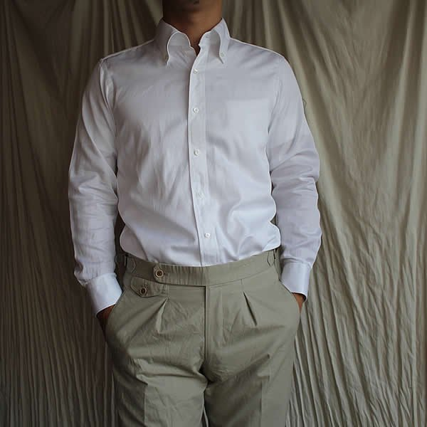 Atelier de vetements shirt / No.26  cotton lawn cloth bandana print button-down shirts