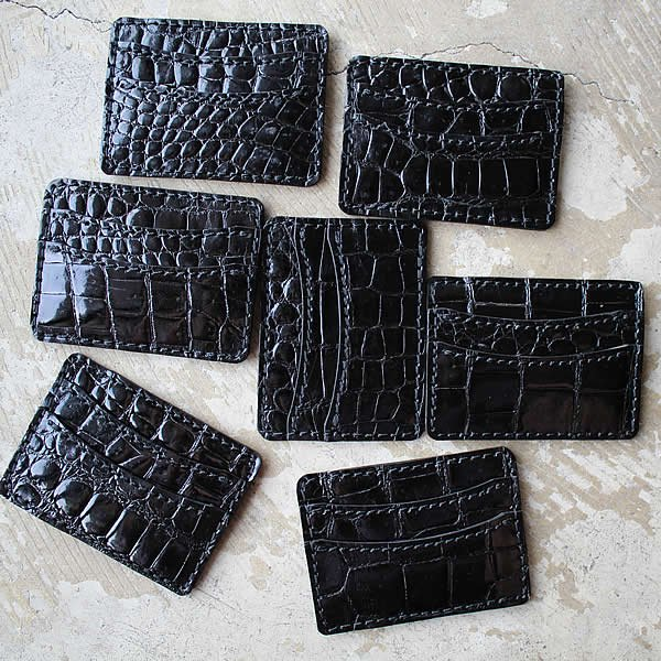 Atelier de vêtements×terve / crocodile card case