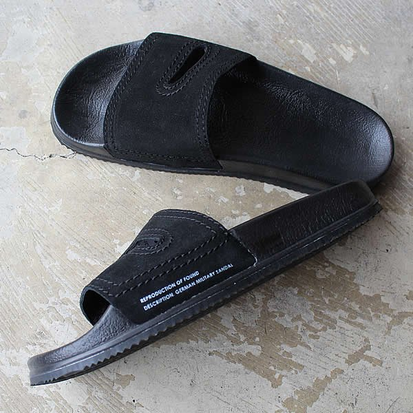 REPRODUCTION OF FOUND / GERMAN MILITARY SANDAL