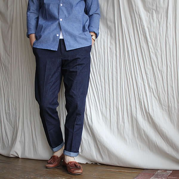 tilt the authentics / Cotton&Japanese paper 5P Denim+Slacks Pants