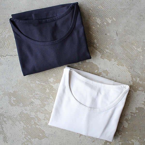 東大阪繊維研究所 / インド超長綿天竺 丸首半袖Tシャツ