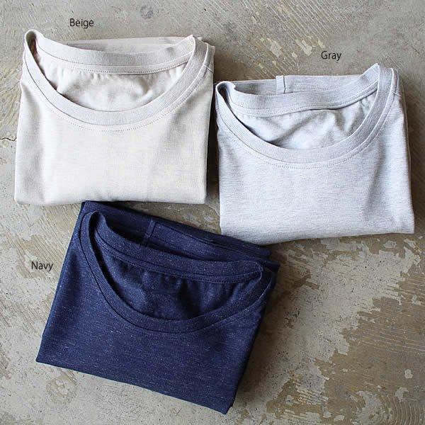 東大阪繊維研究所 / ペルー超長綿 丸首天竺半袖Tシャツ