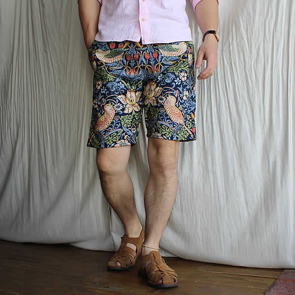 *受注生産*Atelier de vetements / (exclusive order) easy dress shorts -William Morris-