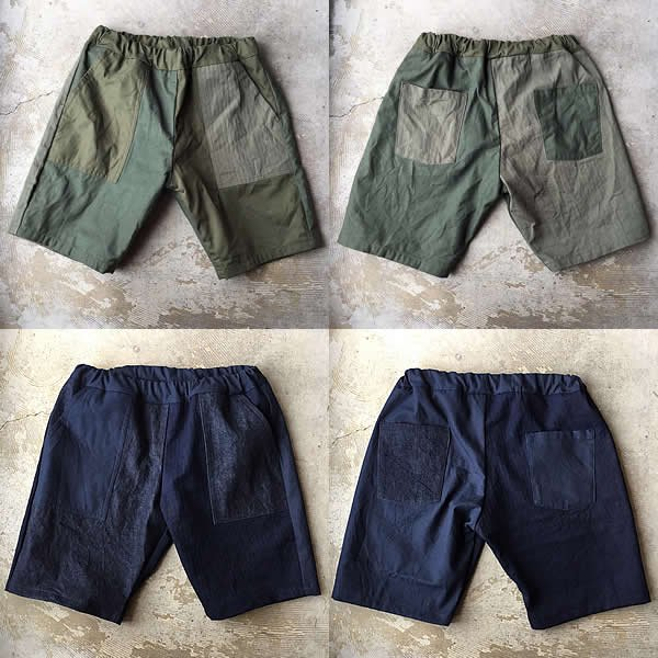 *受注生産*Atelier de vetements / easy dress shorts -crazy fatigue-