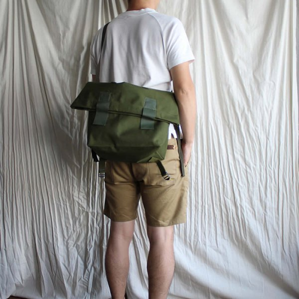 Dead Stock / 80s Denmark Military Messenger Bag