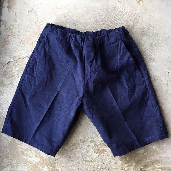*受注生産*Atelier de vetements / easy dress shorts -(国産デッドストックコットン生地)-