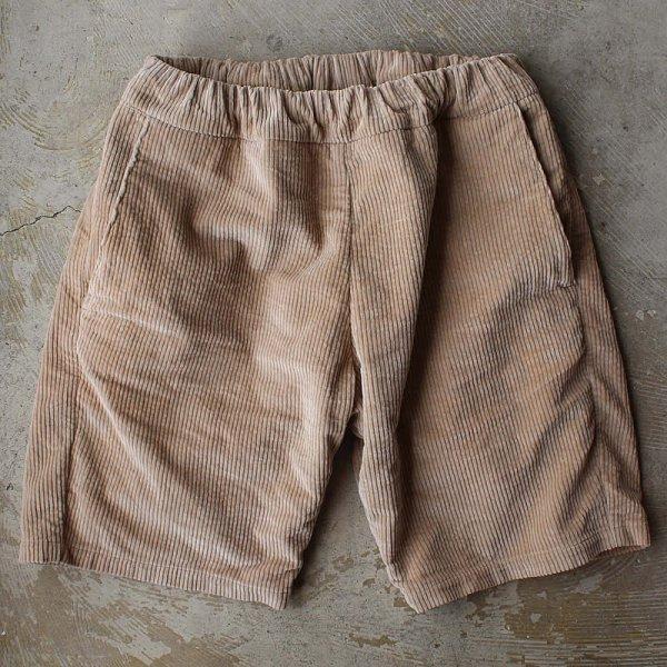 *受注生産*Atelier de vetements / easy dress shorts -(国産デッドストック太畝コーデュロイ生地)-