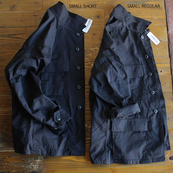 <img class='new_mark_img1' src='https://img.shop-pro.jp/img/new/icons13.gif' style='border:none;display:inline;margin:0px;padding:0px;width:auto;' />Dead Stock / 97's US ARMY Jacket (BDU) BLACK357
