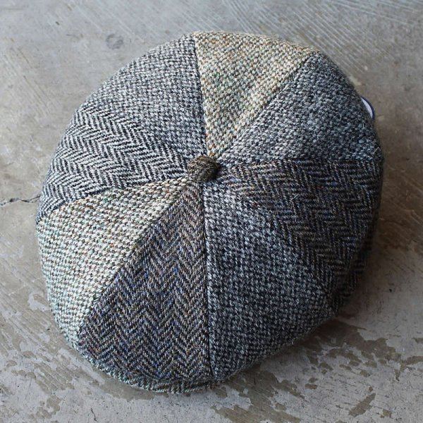 LINNEY HATS LONDON / casquette (harris tweed)