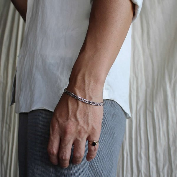50s vintage silver bracelet no,11 (Italy)