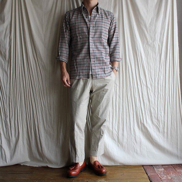 *受注生産*Atelier de vetements shirt / No.38 washable wool button-down shirts