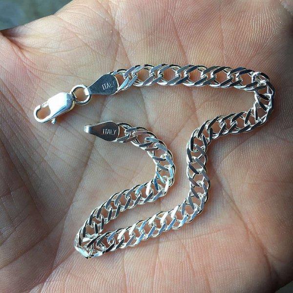 50s dead stock silver bracelet no,21 (Italy)