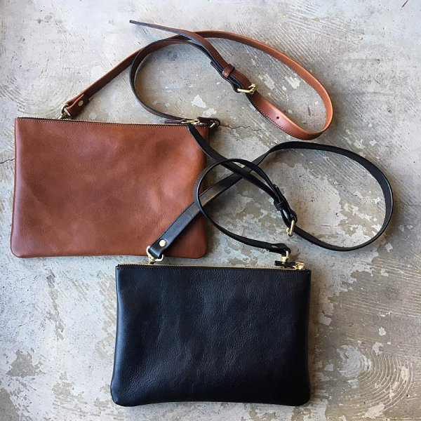 terve / italian leather shoulder bag