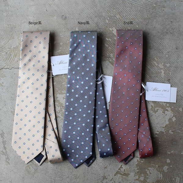 ALBENI 1905 / tie made in italy (クレスト)