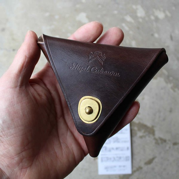 NIGEL CABOURN / LEATHER COIN CASE HORWEEN CHROMEXCEL