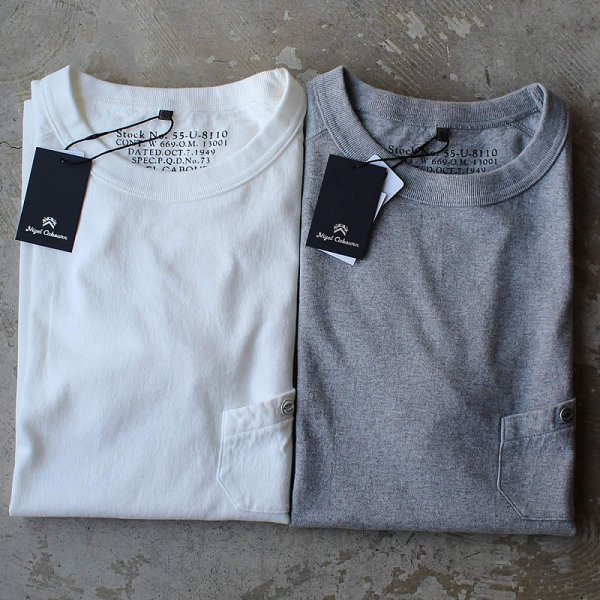 NIGEL CABOURN / NEW BASIC T-SHIRT