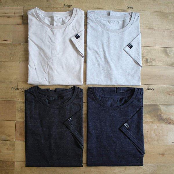 東大阪繊維研究所 / HOFI-007 ペルー超長綿天竺 丸首Tシャツ