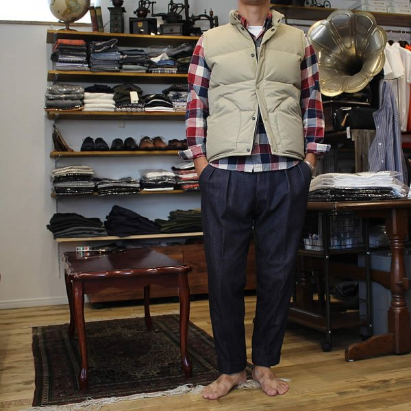 予約(10月お渡し) ZANTER JAPAN / 6712 DOWN VEST