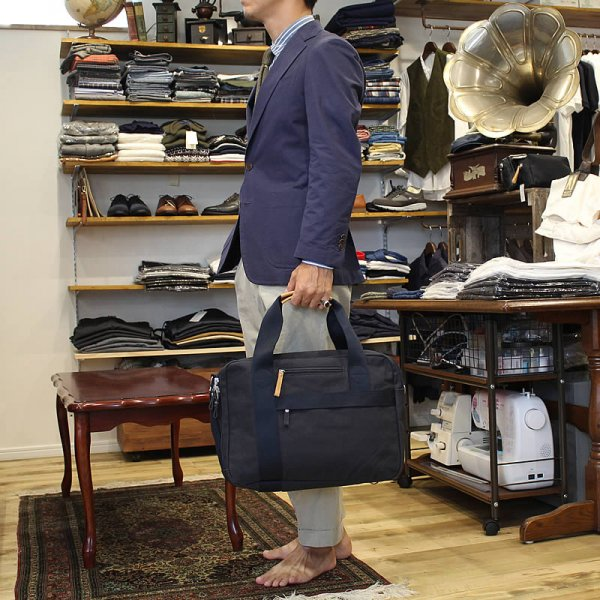 QWSTION / OFFICE BAG -Organic Navy-