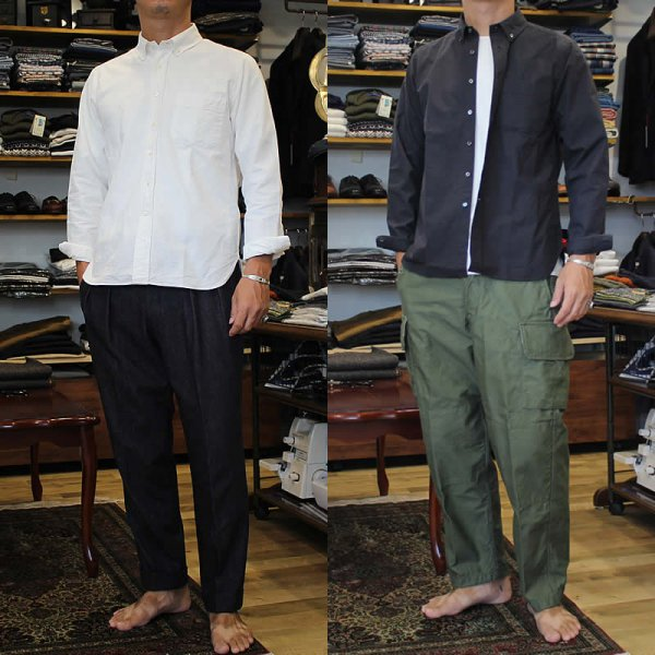 Atelier de vetements / button-down shirts made by ARAN