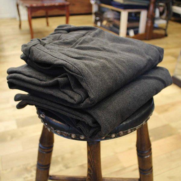 COLINA de passaros / washable wool ratine curve slacks