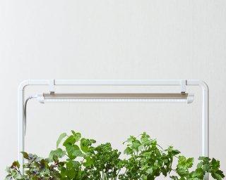 アクアスプラウト SV 用 / 植物用 LED ライト ( ブラック / ホワイト ) ライトスタンド 付