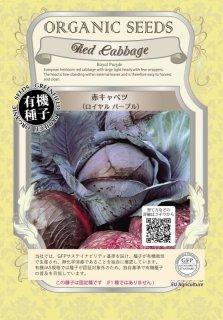 赤 キャベツ / ロイヤル パープル / 有機 種子 固定種 / グリーンフィールド / ブラシカ [小袋]