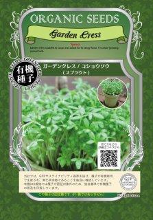 ガーデンクレス / コショウソウ / 有機 種子 固定種 / グリーンフィールド / スプラウト [小袋]