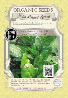 チャード スイスチャード / ふだん草 / 緑 / 有機 種子 固定種 / グリーンフィールド / 葉菜 [小袋]