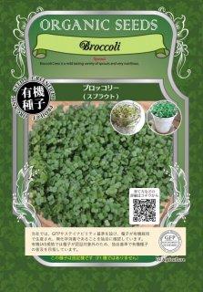 ブロッコリー / 有機 種子 固定種 / グリーンフィールド / スプラウト [中袋]