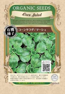 コーンサラダ / マーシュ / 有機 種子 固定種 / グリーンフィールド / ハーブ [小袋]