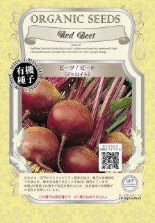ビーツ / ビート / デトロイト / 有機 種子 固定種 / グリーンフィールド / 根菜 [大袋]