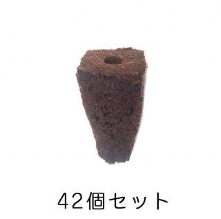 有機 種まき ポット / スポンジ / 育苗 / オーガニック 培地 / 42個セット