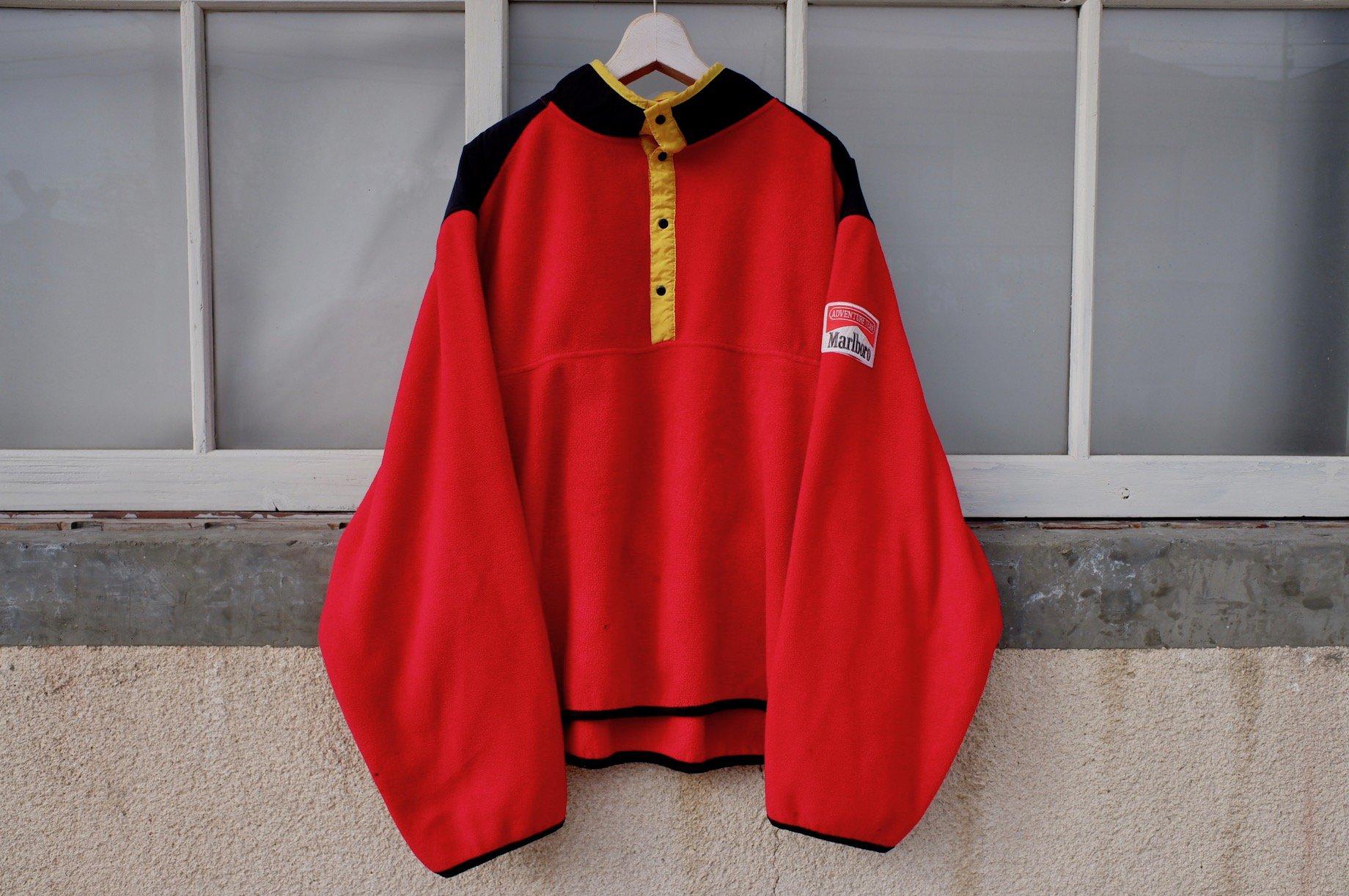 vintage/90's Marlboro fleece jacket