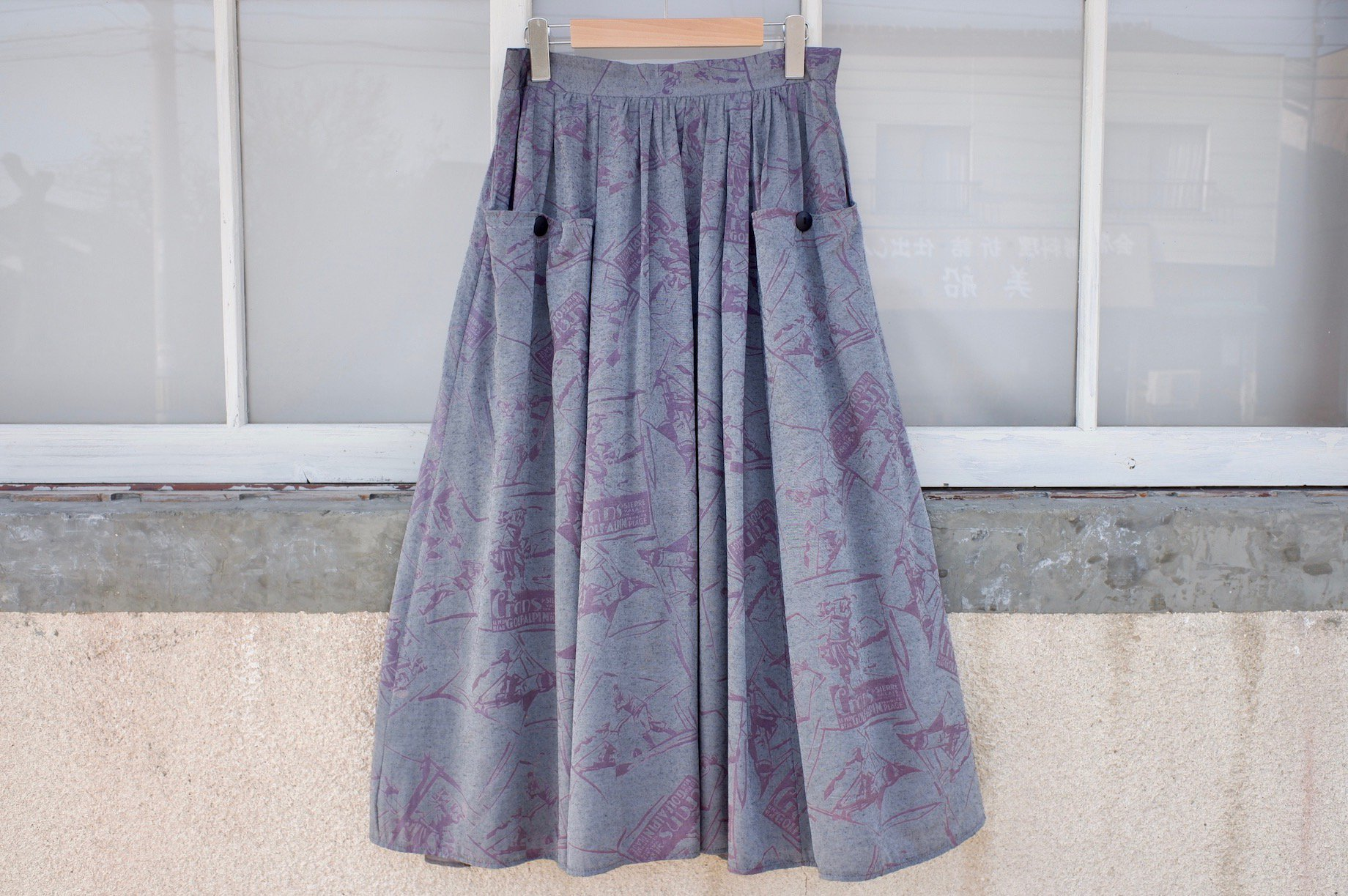 <img class='new_mark_img1' src='//img.shop-pro.jp/img/new/icons13.gif' style='border:none;display:inline;margin:0px;padding:0px;width:auto;' />the lawn returns to nature skirt