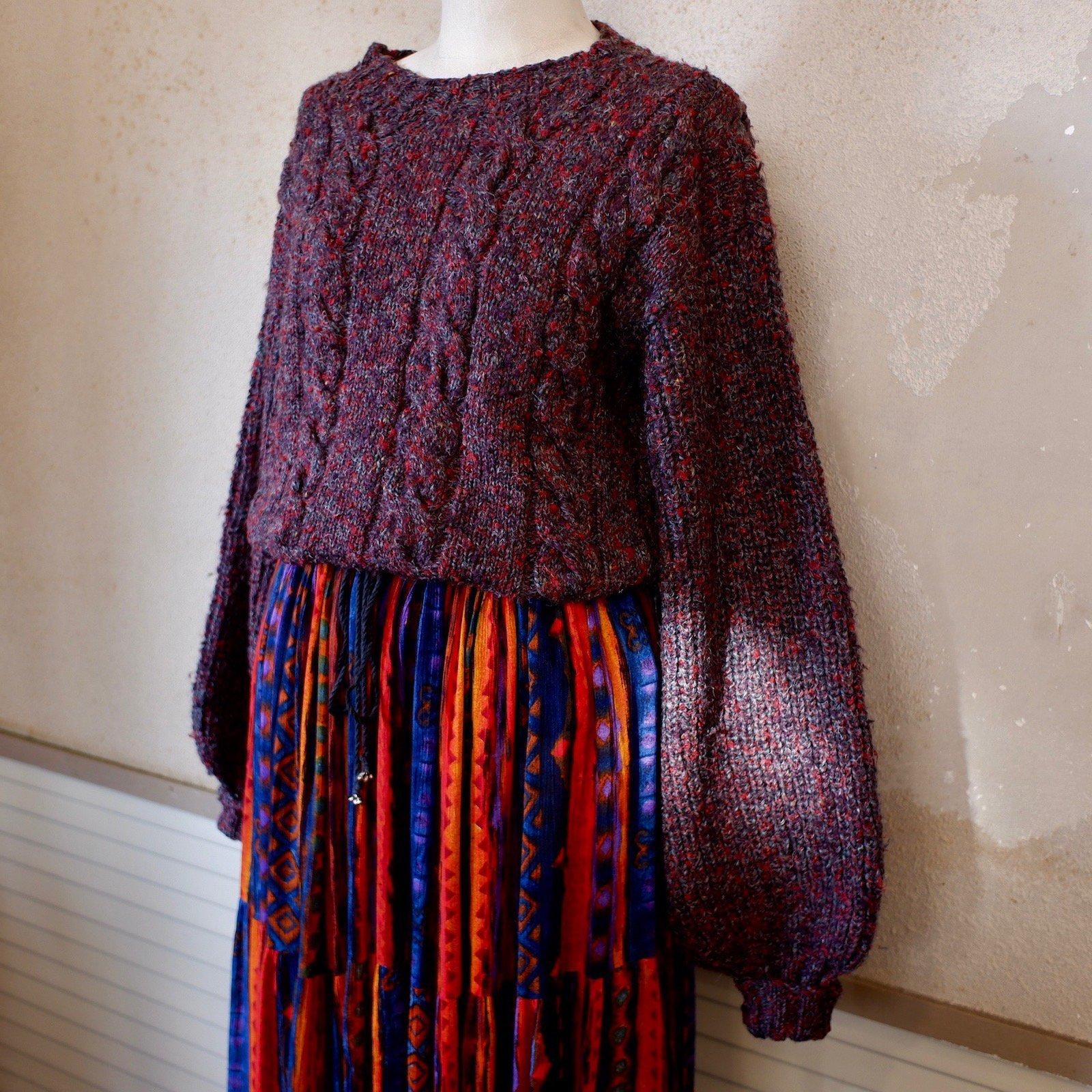 bundle and burn longing sweater