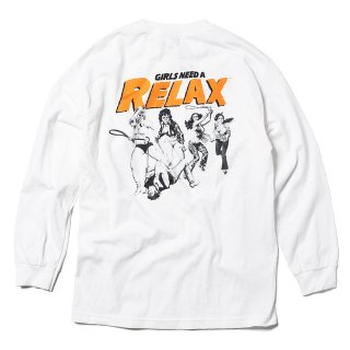 RELAX Girls Need a Relax L/S Tee