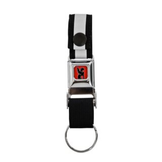 CHROME MINI BUCKLE KEY CHAIN