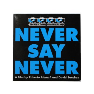 CONSOLIDATED NEVER SAY NEVER DVD