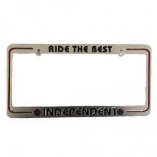 INDEPENDENT RIDE THE BEST LICENSE PLATE