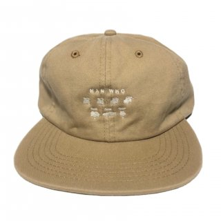 MAN WHO 6 PANEL CAP